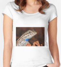 Fence Lizard Women's Fitted Scoop T-Shirt