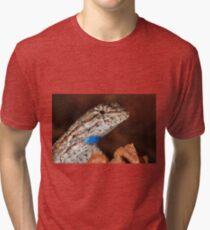 Fence Lizard Tri-blend T-Shirt