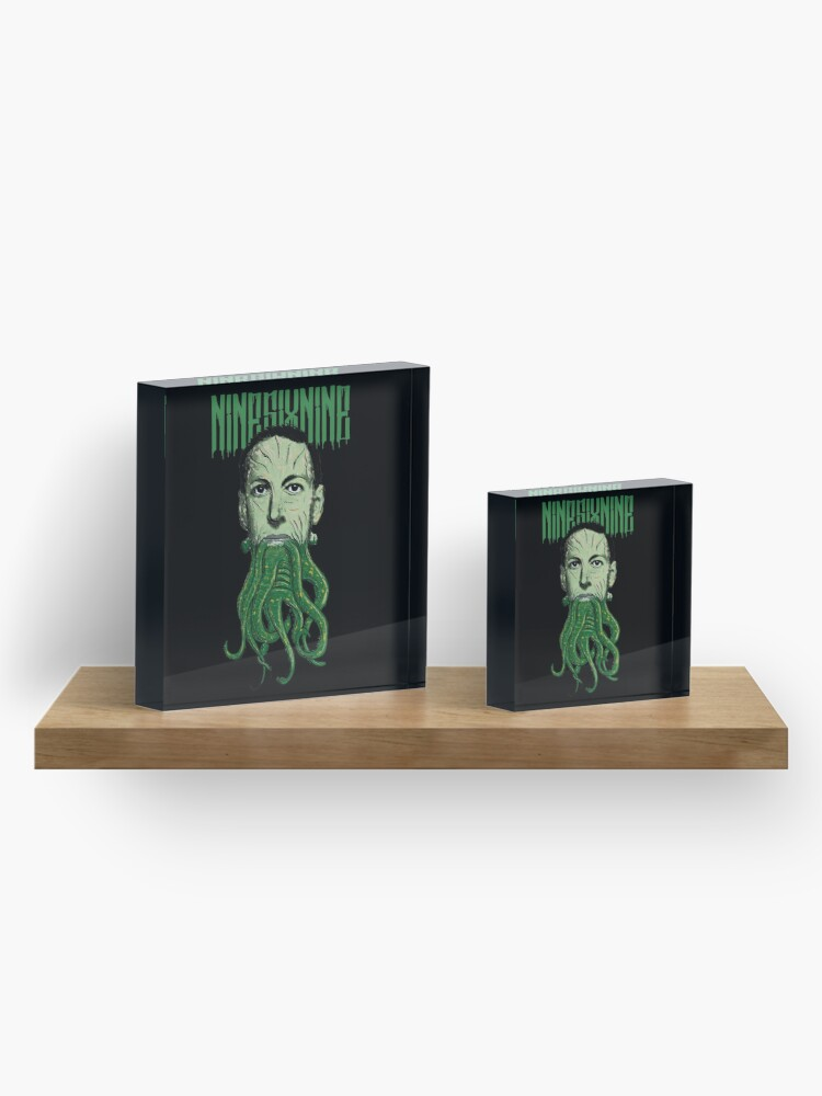 Alternate view of HP Lovecraft Cthulhu Acrylic Block