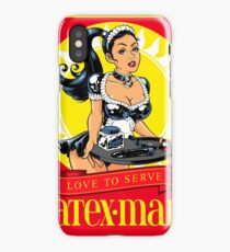 Latex-Maid - Color iPhone Case/Skin