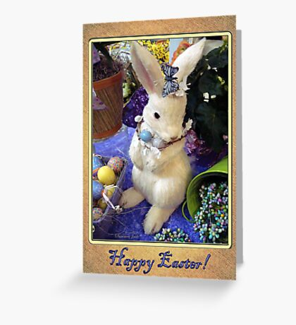 Time for the Easter Bunny Greeting Card