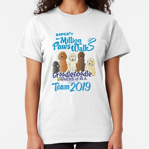 Groodle & Oodle Club Million Paws Walk Team 2019 Classic T-Shirt