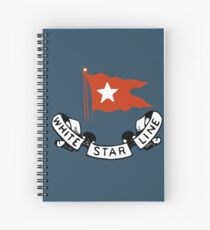 White Star Line (Titanic) Spiral Notebook