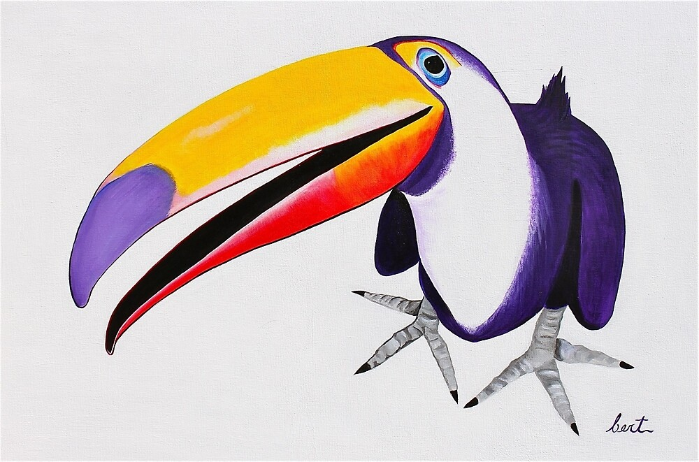 Toucan by PaintingPets