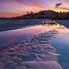 Cala La Merced Sunset by Ralph Goldsmith