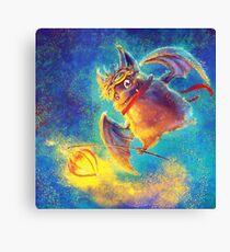 Ikou the Cute Bat Canvas Print