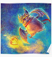 Ikou the Cute Bat Poster