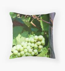 resting on the vine Throw Pillow