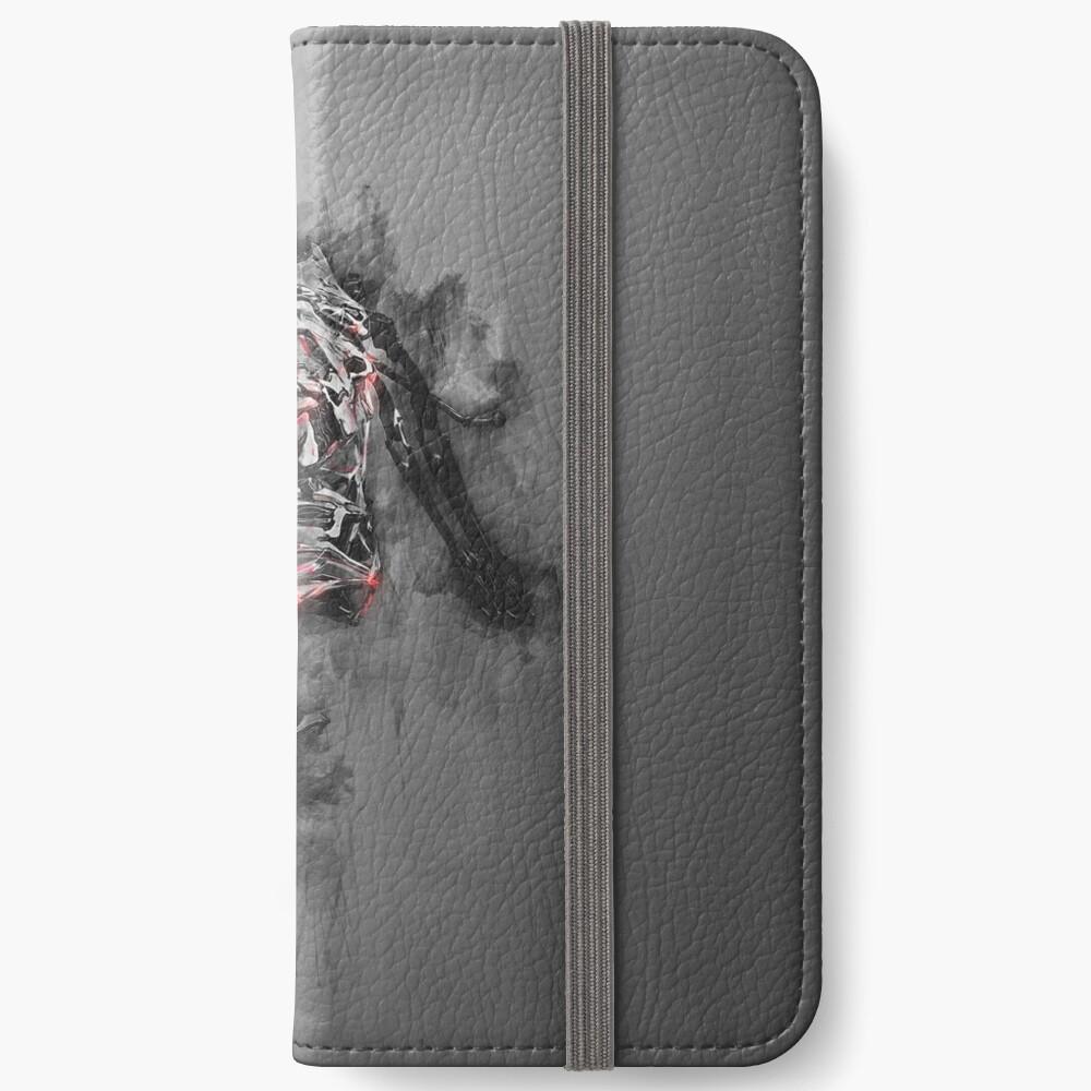 Warframe Asche Asche iPhone Flip-Case