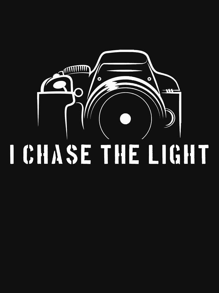 Photographer - I chase the light by designhp