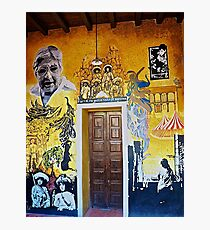Mural from Parral, Mexico Photographic Print