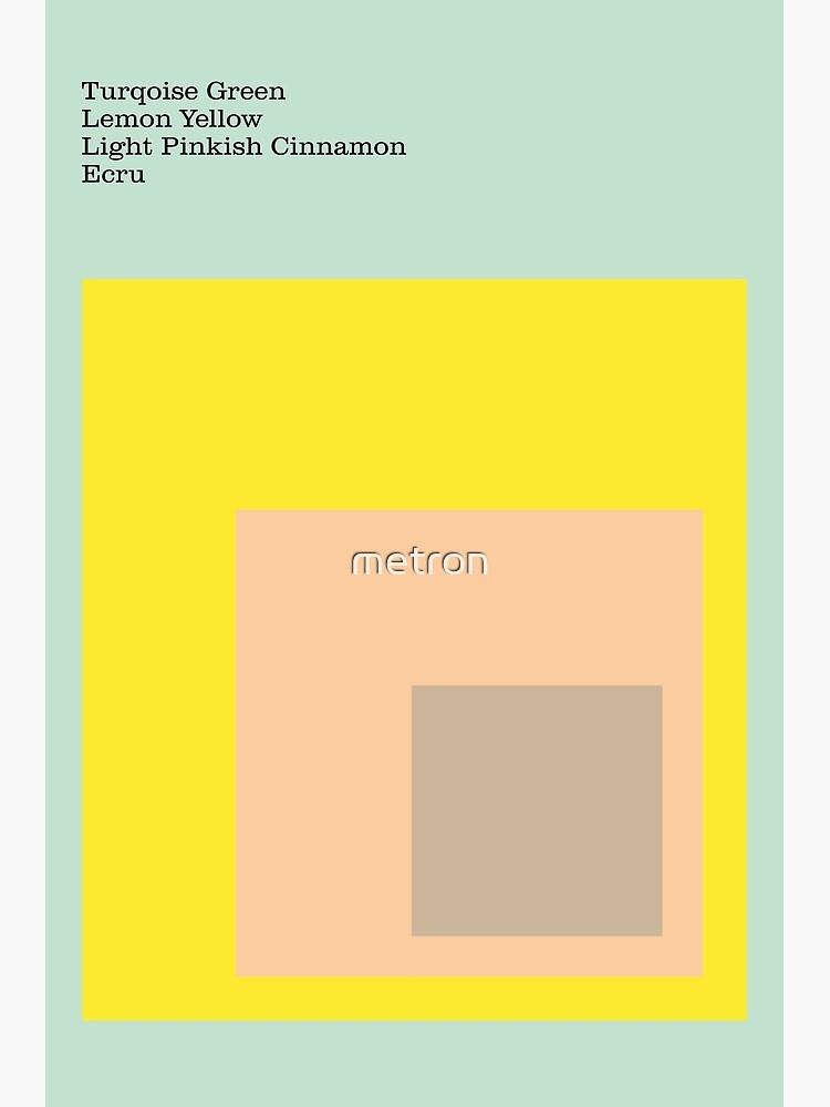 Color Ensemble No. 1 by metron