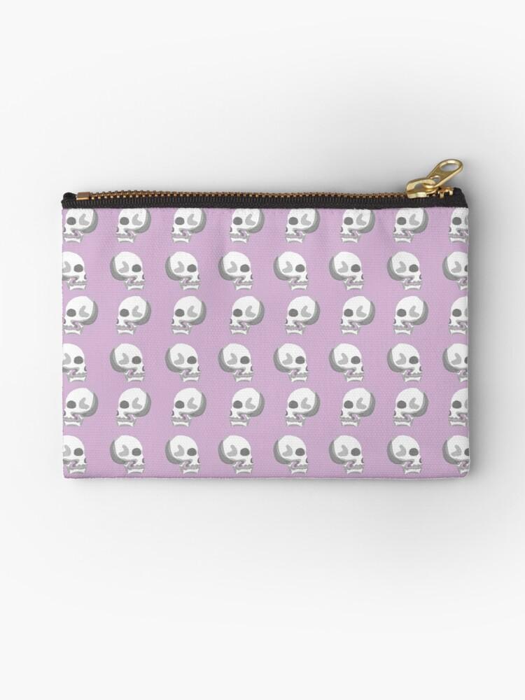 Pastel Skulls- White by sasspar