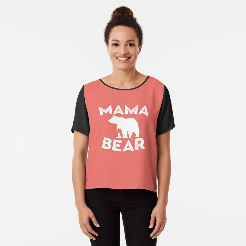 Mama Bear and Baby Bear Chiffon Top