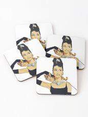 Breakfast at Tiffany s | Audrey Hepburn Coasters