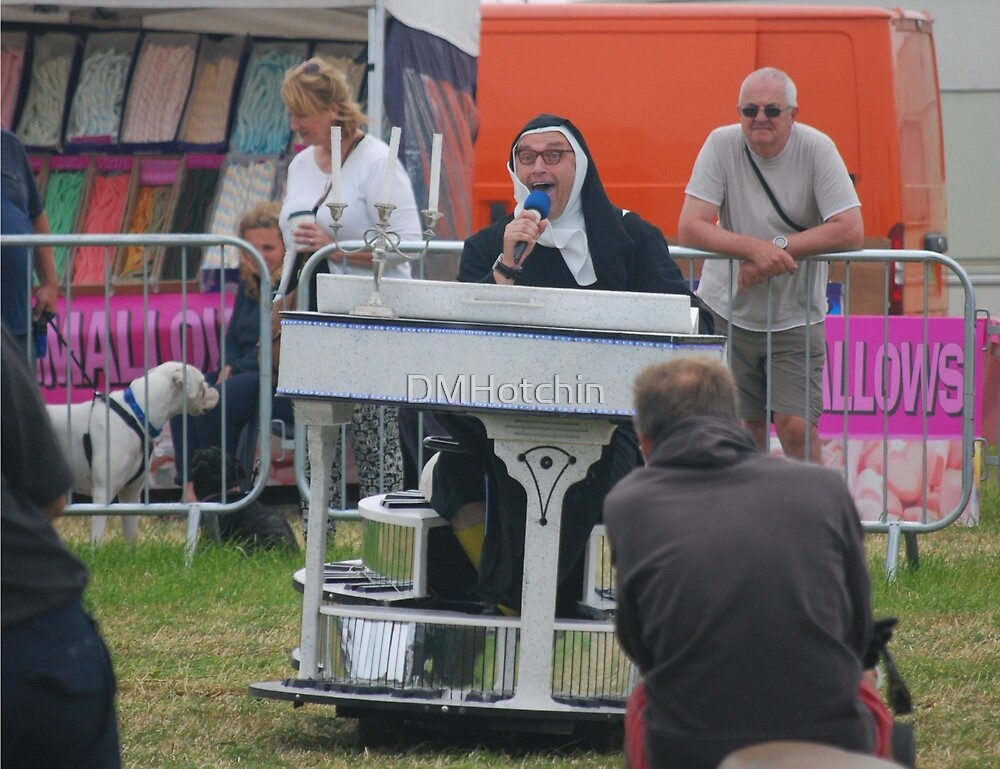 "The ""Singing"" Nun by DMHotchin"