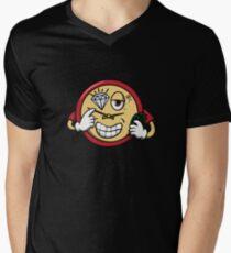 Tic Toc Men's V-Neck T-Shirt