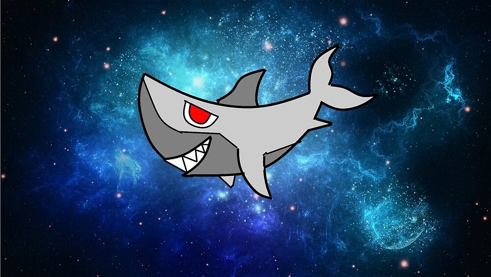 Super Space Shark by JamsonJelly