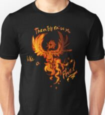 Fall Out Boy - The Phoenix - Then I'll Raise You Like A Phoenix Slim Fit T-Shirt