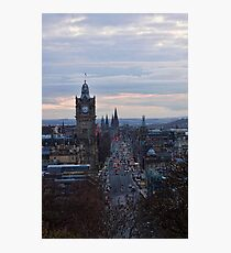 Princes Street Photographic Print