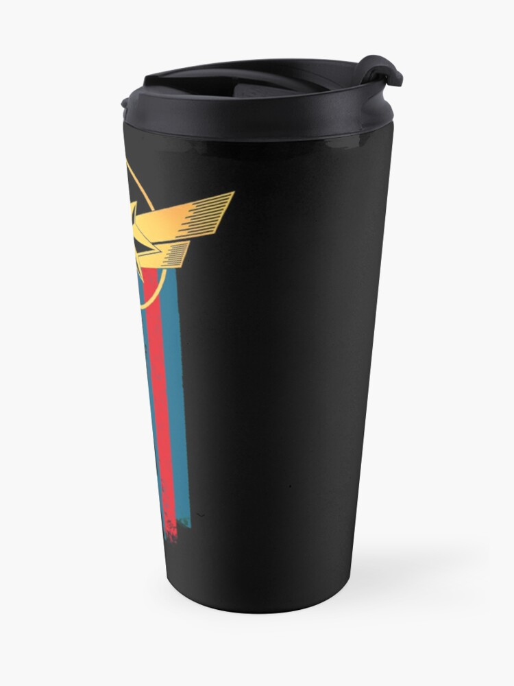 Alternate view of A Real Heroine v2 Travel Mug
