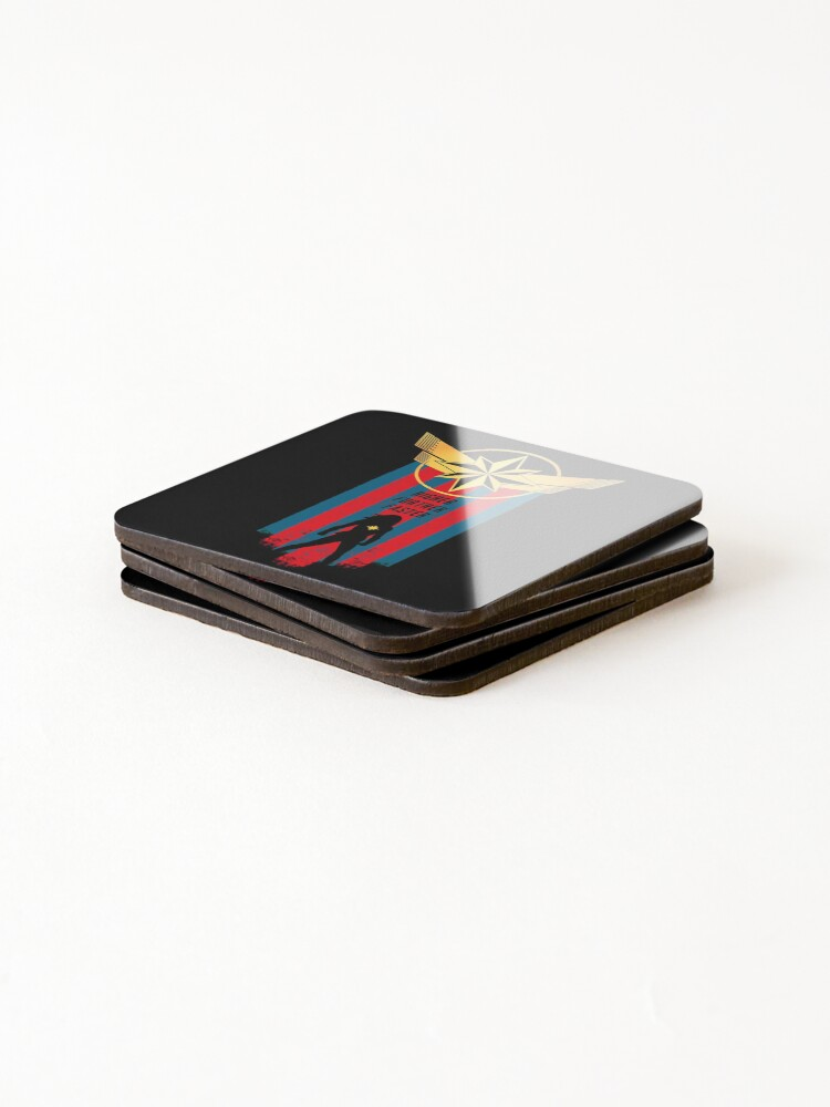 Alternate view of A Real Heroine v2 Coasters (Set of 4)