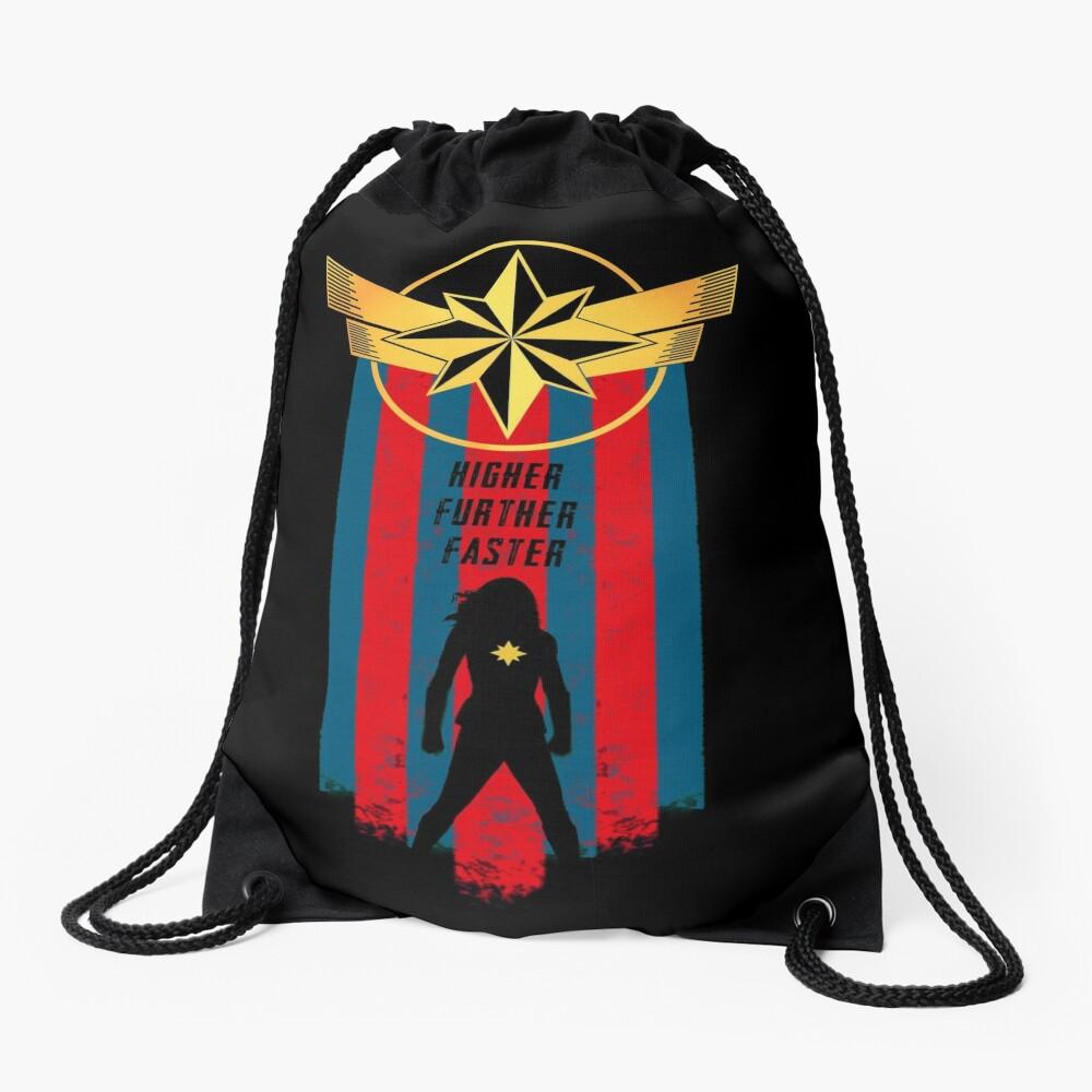 A Real Heroine v2 Drawstring Bag