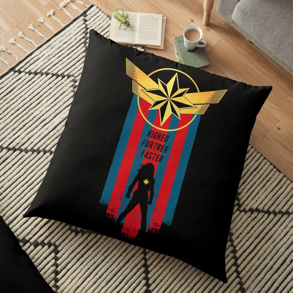 A Real Heroine v2 Floor Pillow