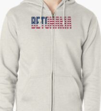 Betomania Stars & Stripes Zipped Hoodie