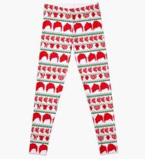 5 Seconds Of Summer Christmas Leggings