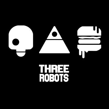 Three Robots- Love, Death & Robots Series- (With sign) by moonfist