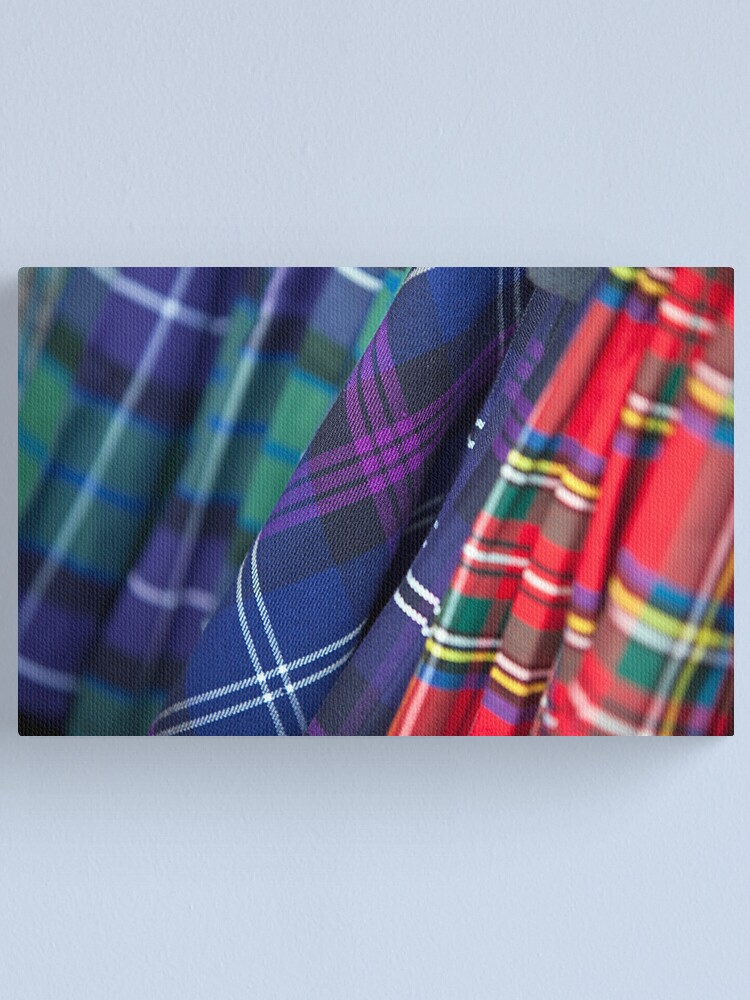 Alternate view of The Clans Canvas Print