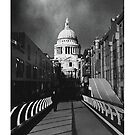 Monochrome St Pauls by BigFatArts