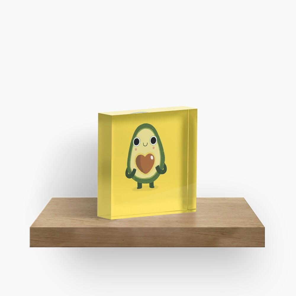 Luvocado Acrylic Block