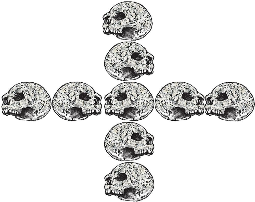 Granite Skull Stack (Cross) by ProjectMayhem