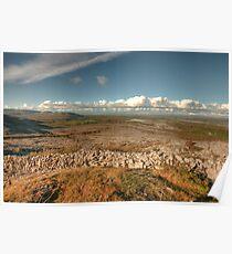 Beautiful Burren scene Poster