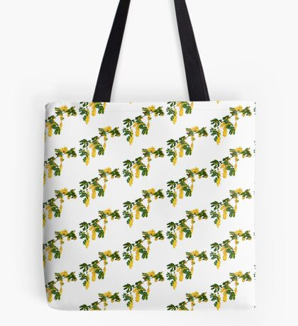 Wattle Fever - White Tote Bag