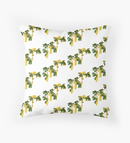 Wattle Fever - White Floor Pillow