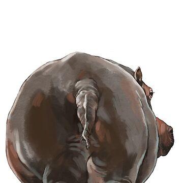 Trasero de hipopótamo de bignosework