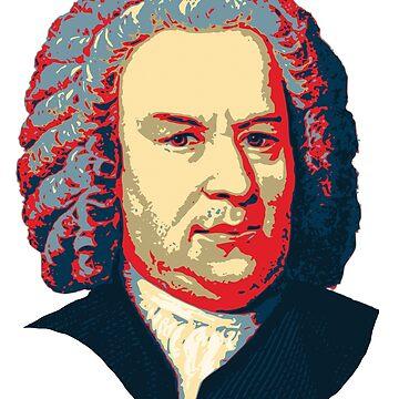 Johann Sebastian Bach  by idaspark