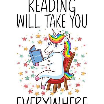 Reading will take you everywhere teacher by FutureInTheAir