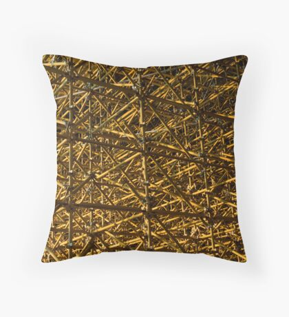 Infinite confusion Throw Pillow