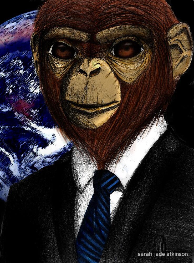 Super Awesome Lawyer Monkey by sarah-jade atkinson