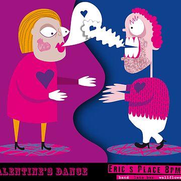 Valentines night invite by Louiecat1