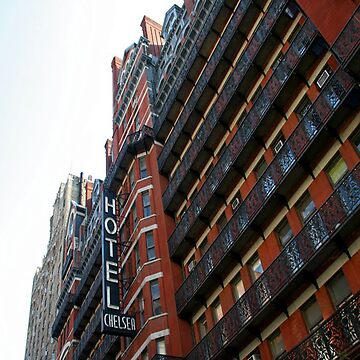 the Chelsea hotel New Yorks home to Creatives for many many moons. by SteveHook