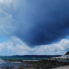 Storm Clouds over St Austell Bay by DMHotchin