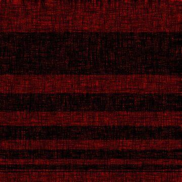 Red black stripes by Anteia