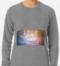 Science Technology with Brain Interface as a Concepts Lightweight Sweatshirt