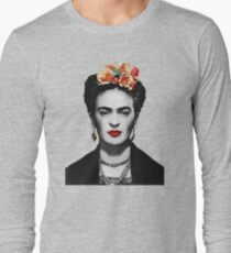 Frida Kahlo Artwork, Original Poster, I Paint My Own Reality,  Posters, Tshirts, Men, Women, Kids Long Sleeve T-Shirt