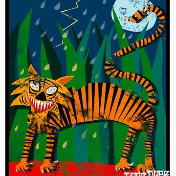 Tiger Tiger Burning Bright!!! by Louiecat1